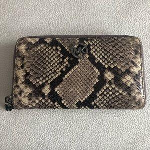Michael Kors Snake Skin Wallet